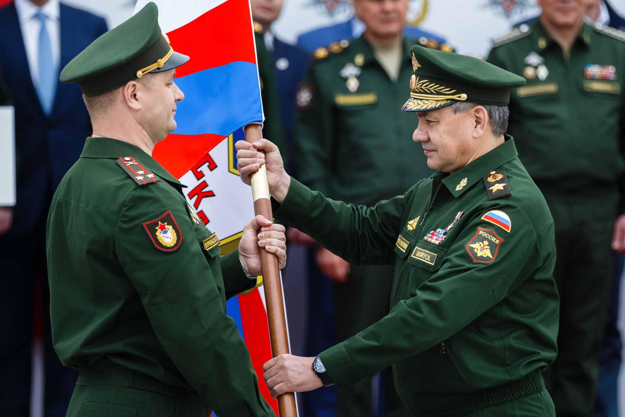 Михаил Барышев возглавил главное управление по работе с личным составом Минобороны РФ