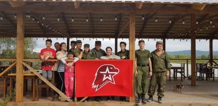 В Приморском пос. Кипарисово прошли 3-дневные сборы юнармейцев